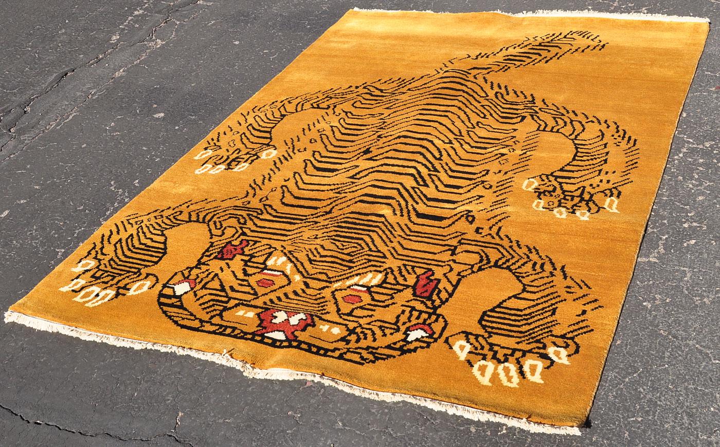 Nepal Tiger Rug
