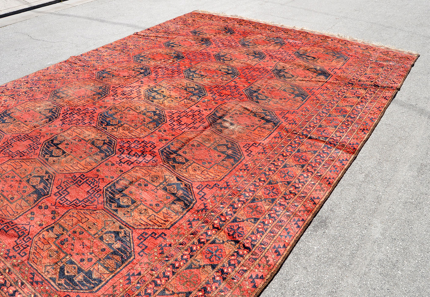 Turkoman Antique Rug 13 ft. by 10 ft.