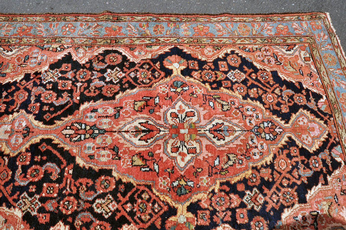 Antique Village Rug Iran