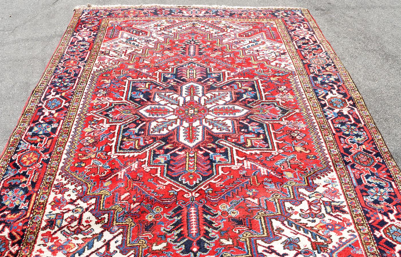 Heriz Carpet from NW Iran