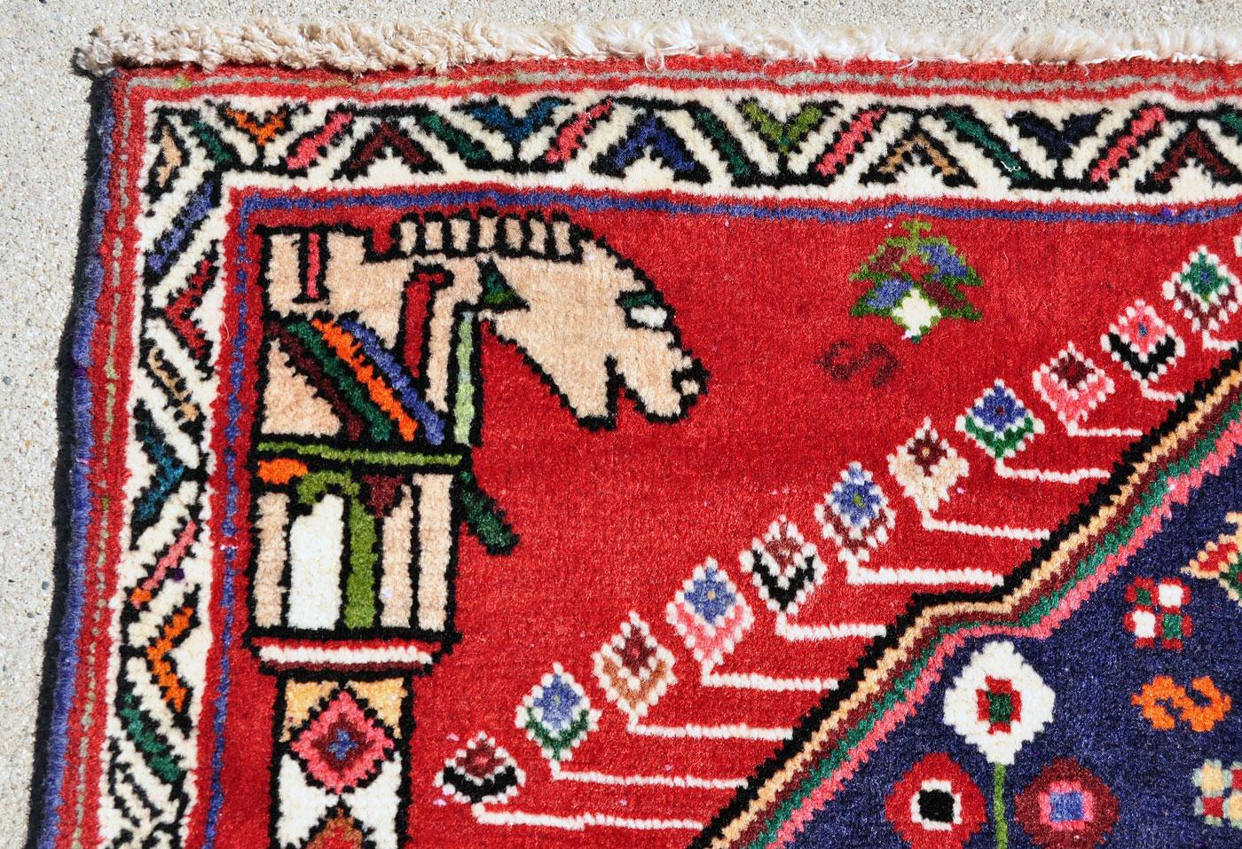 Qashqai Horse Head Rug