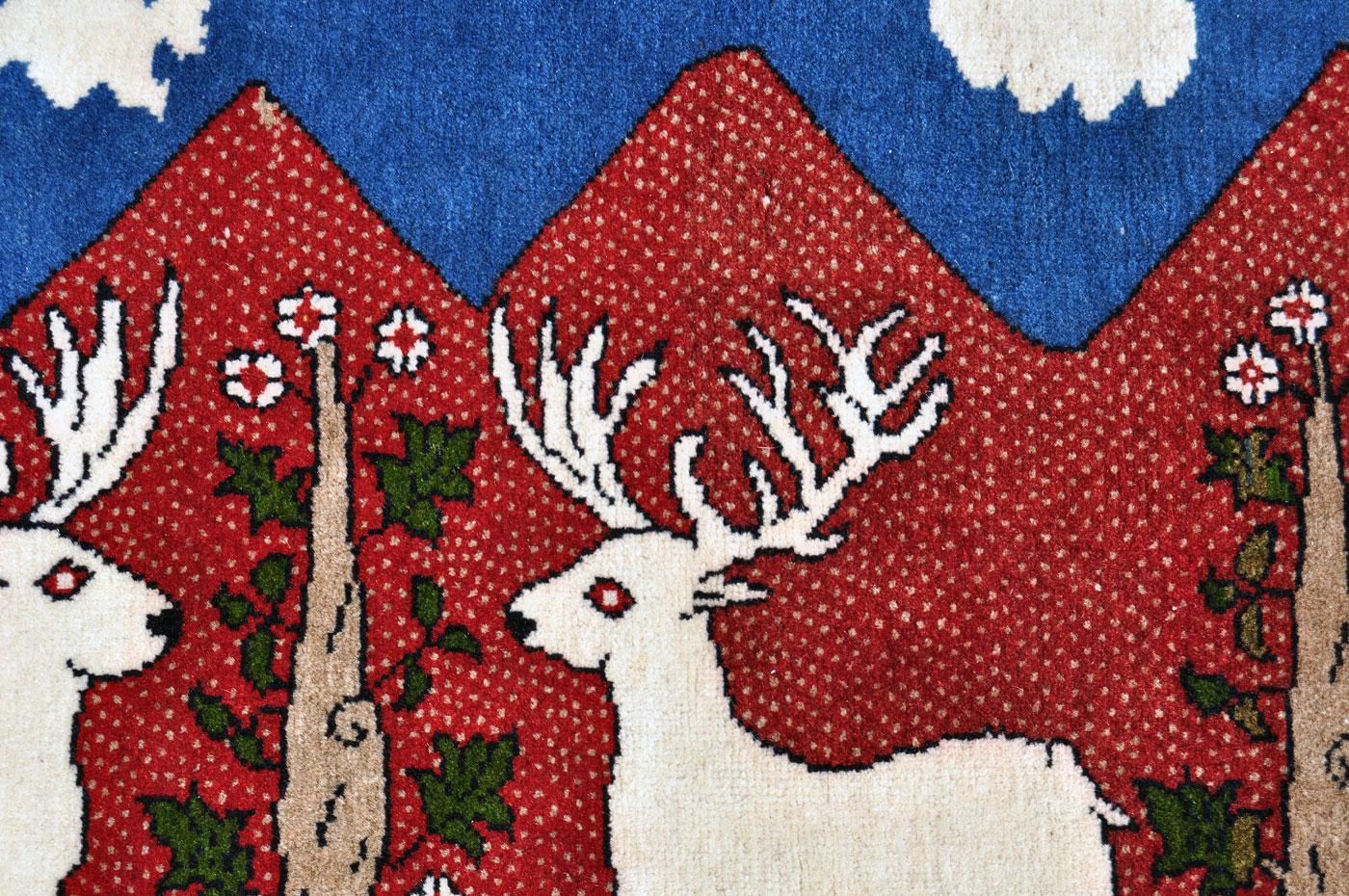 Reindeer Persian Rug