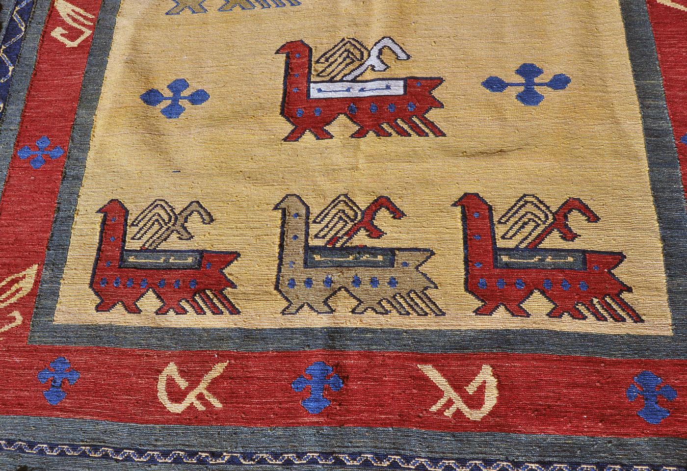 Qashqai Tribal Sumak Rug