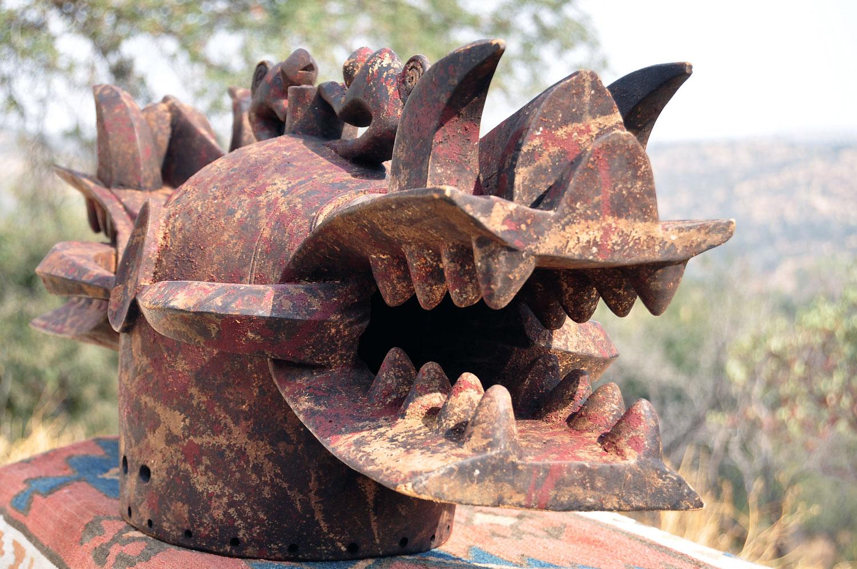 Senufo firespitter mask