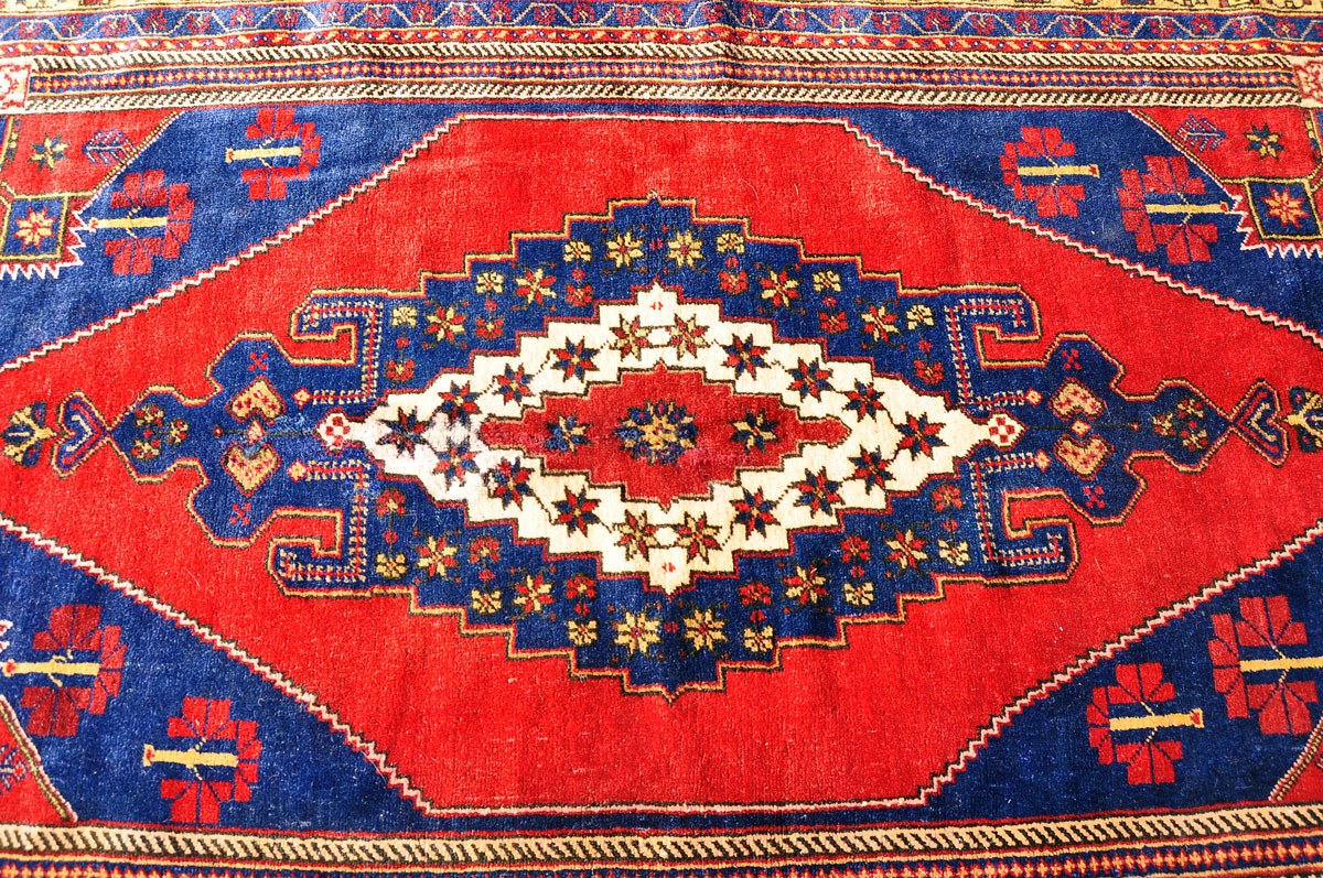 Turkish Konya Oushak Rug