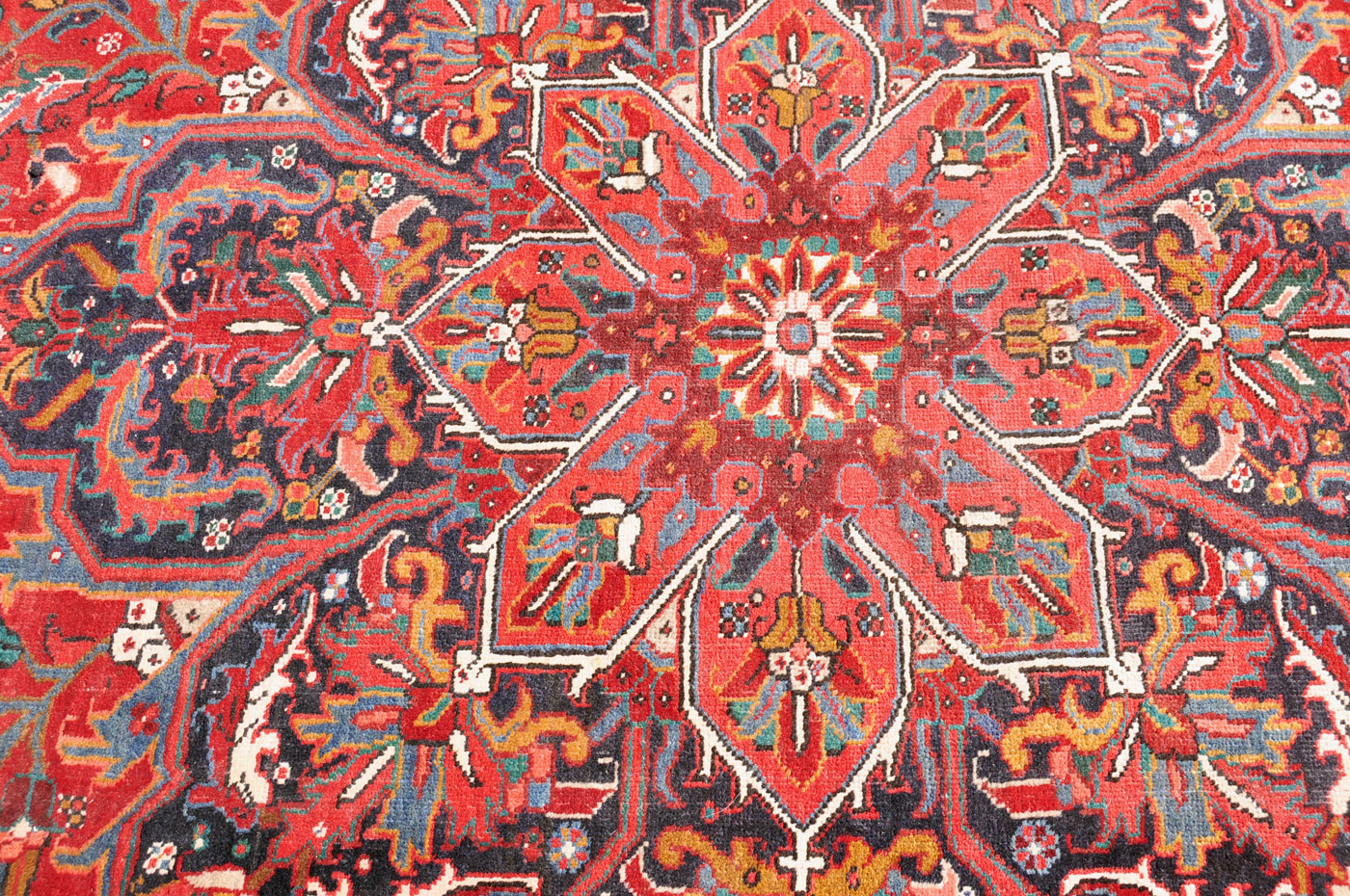 Medallion Heriz Carpet