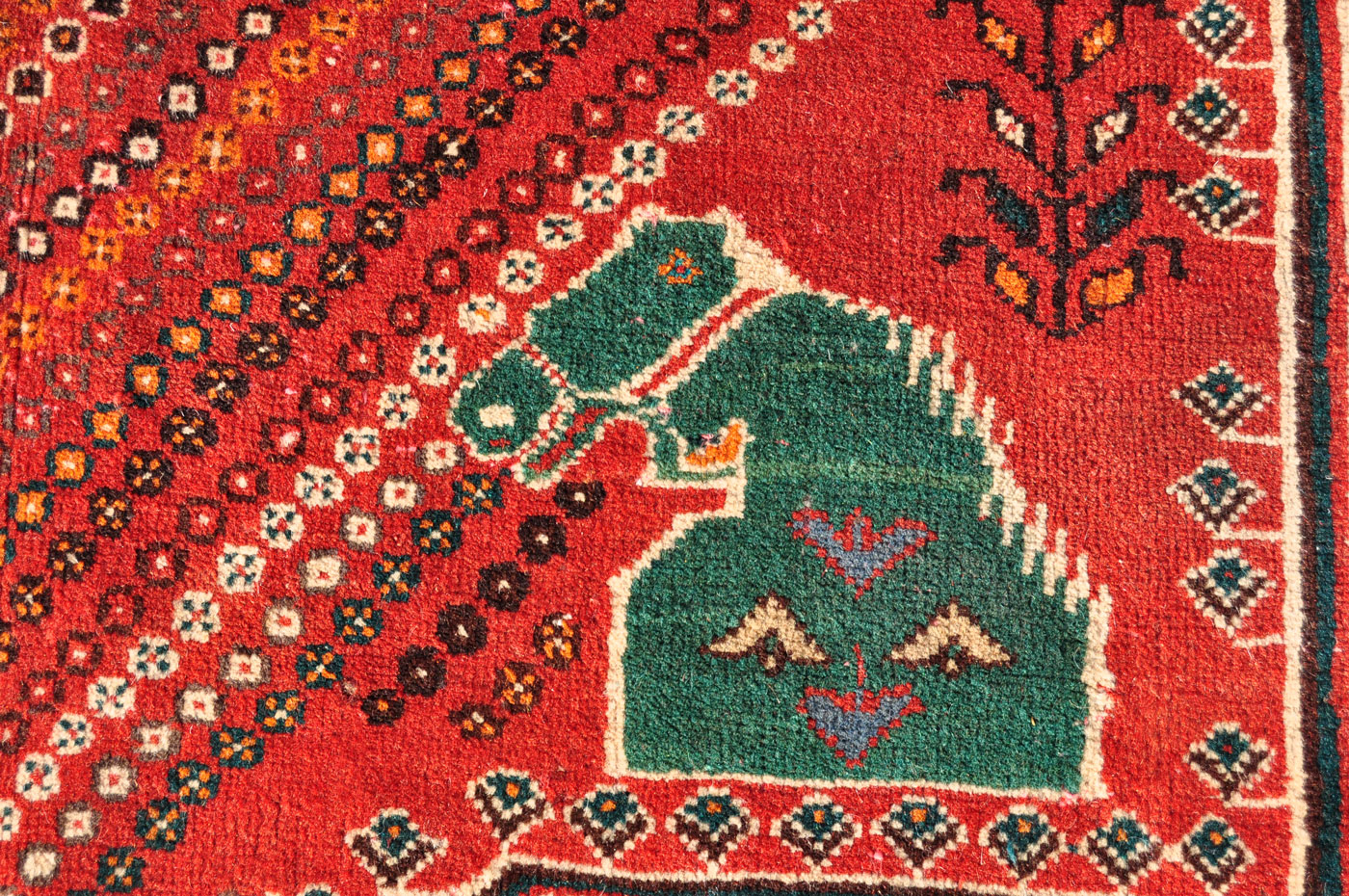 Large Persian Qashqai Rug
