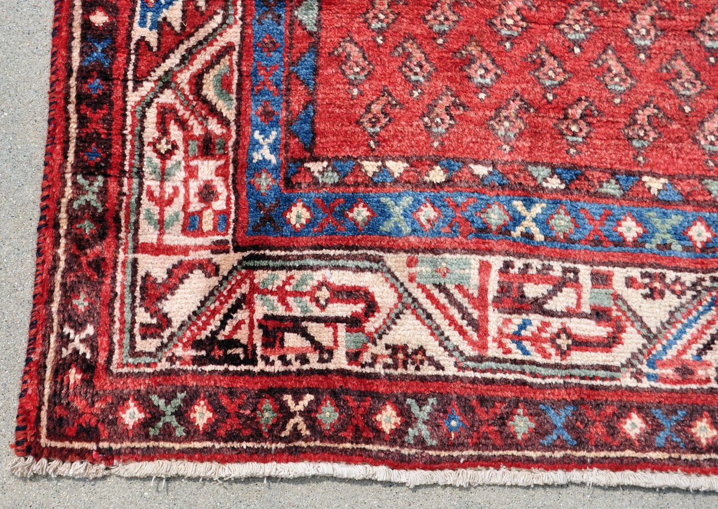 Persian Boteh Pattern Runner