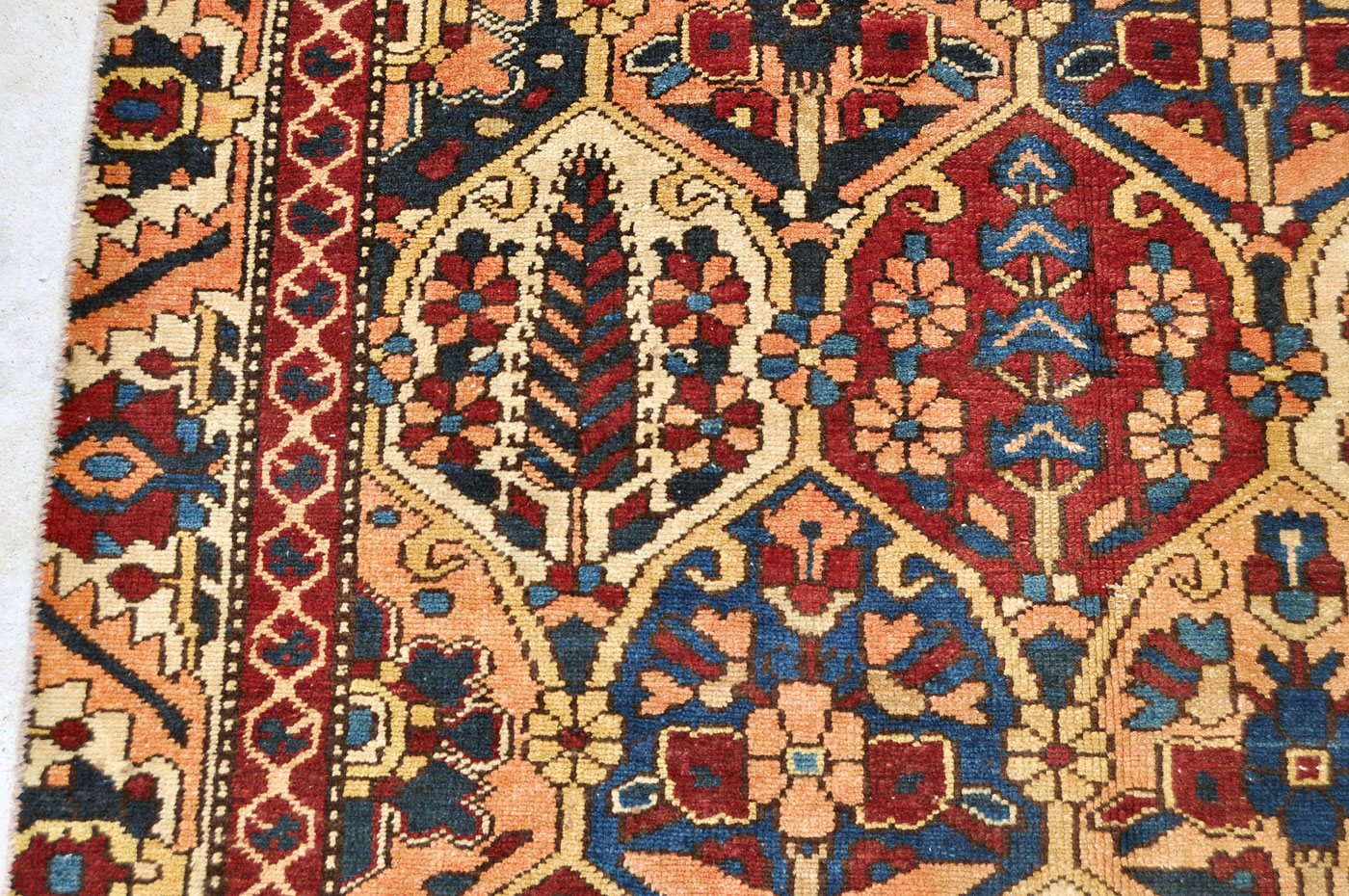 Persian Cypress tree rug