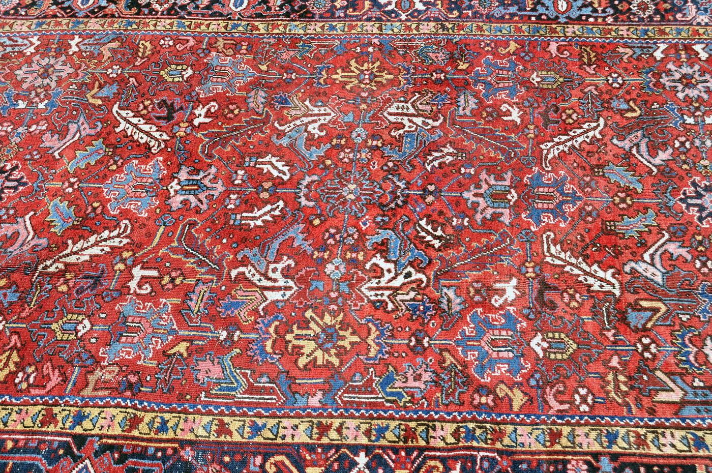 Lovely Heriz Herati Motif Rug