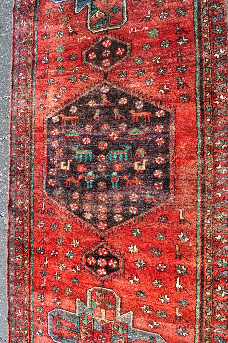 Kurdish Tribal Animal rug