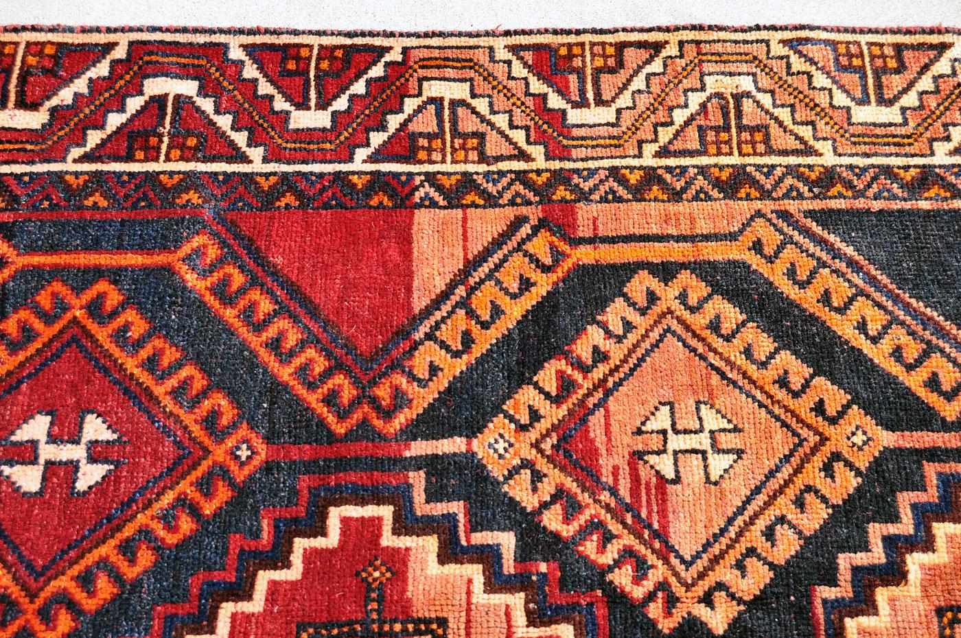 Persian Red Tone Tribal Carpet