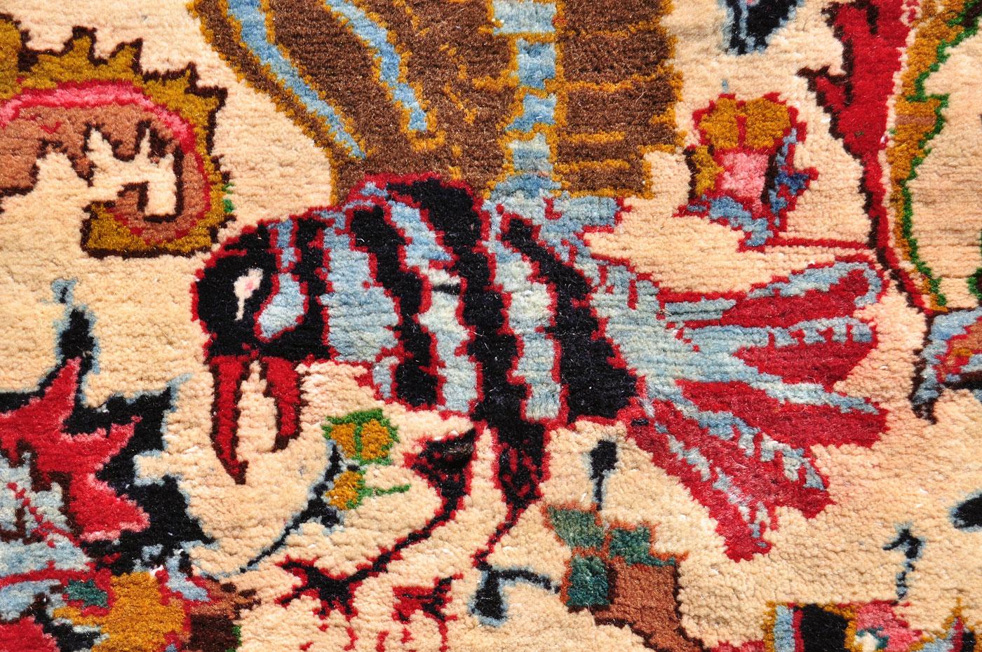 Persian medallion Bird Carpet