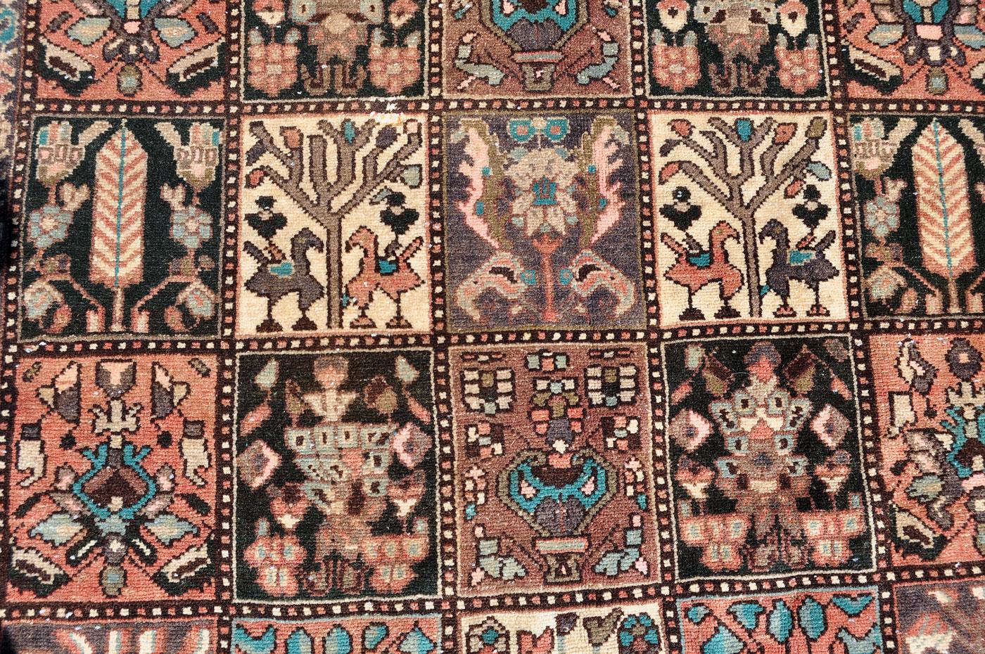 Bakhtiar Bird rug