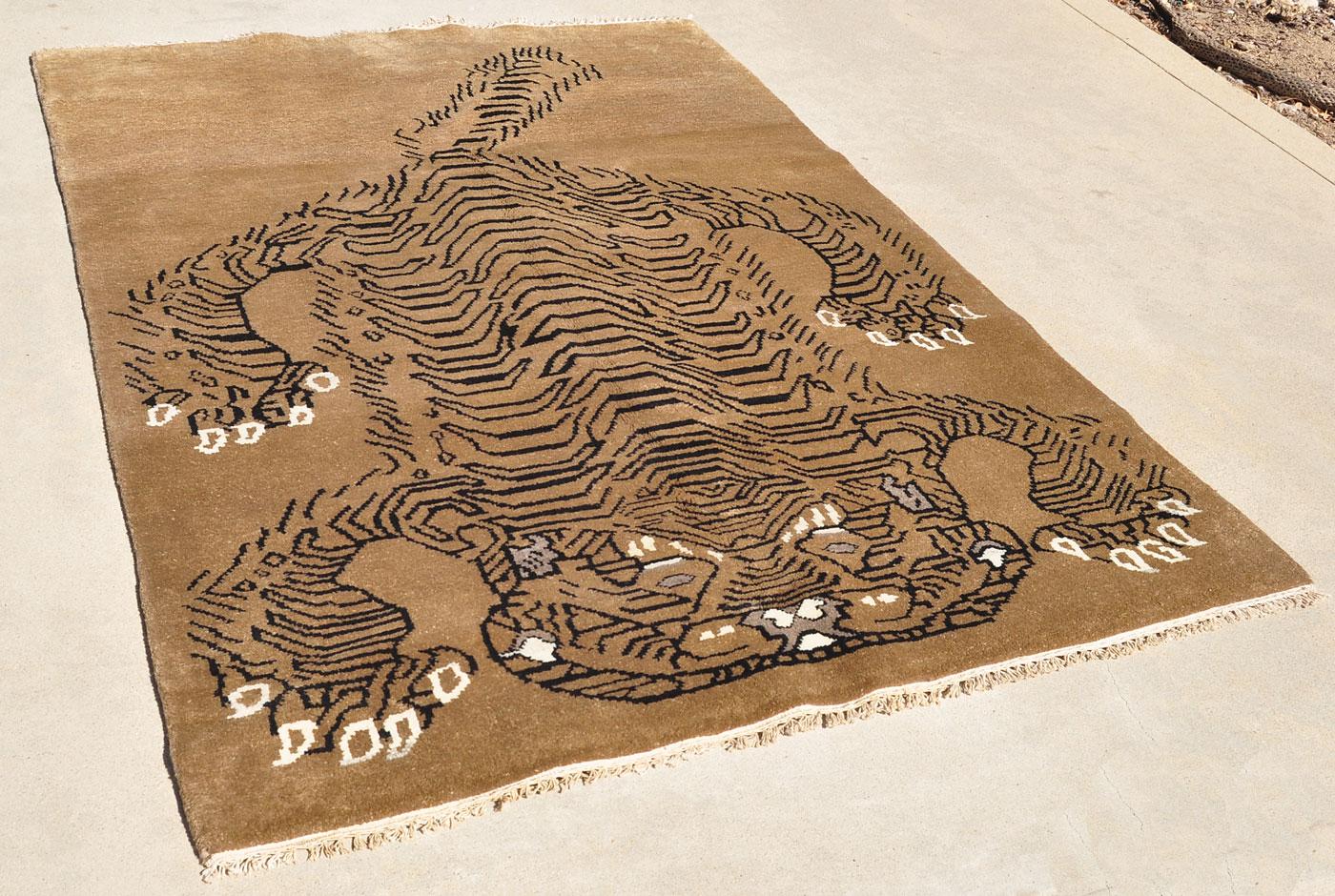 Nepal Tiger Carpet
