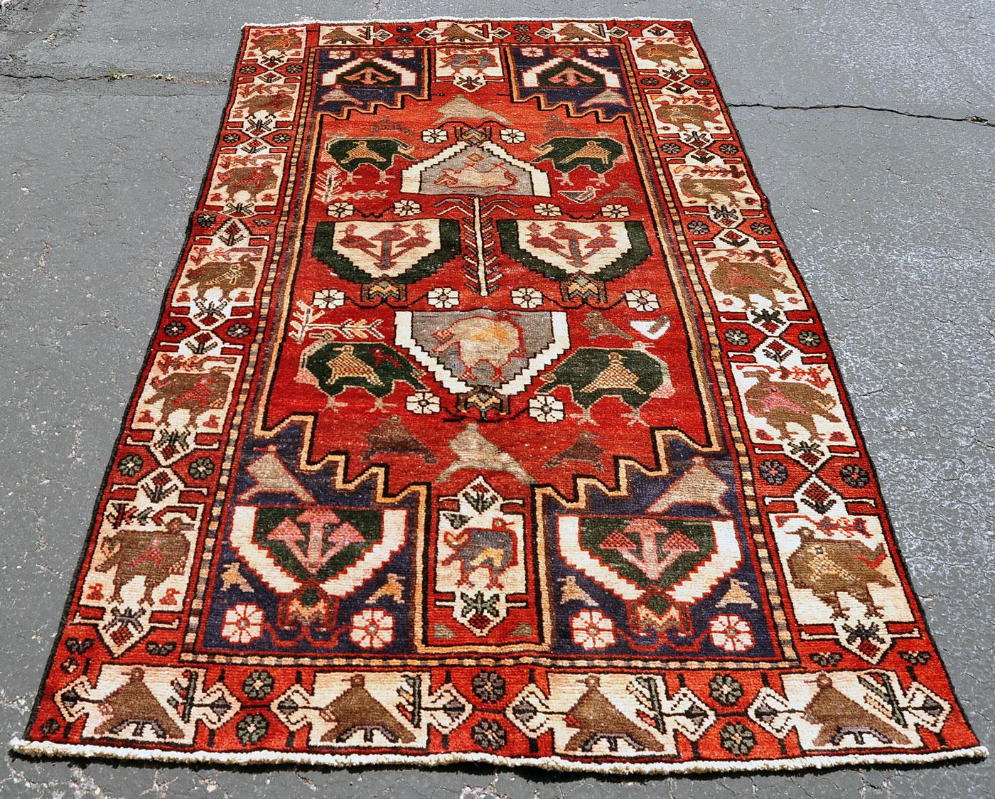 Luri Persian Bird Rug