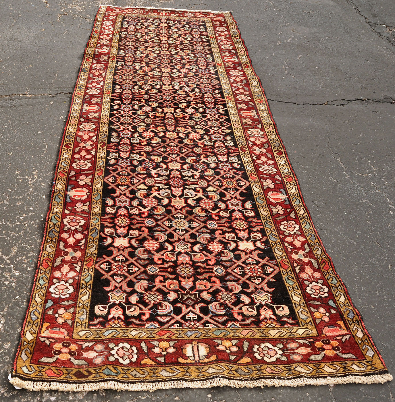Persian Dark Herati Rug