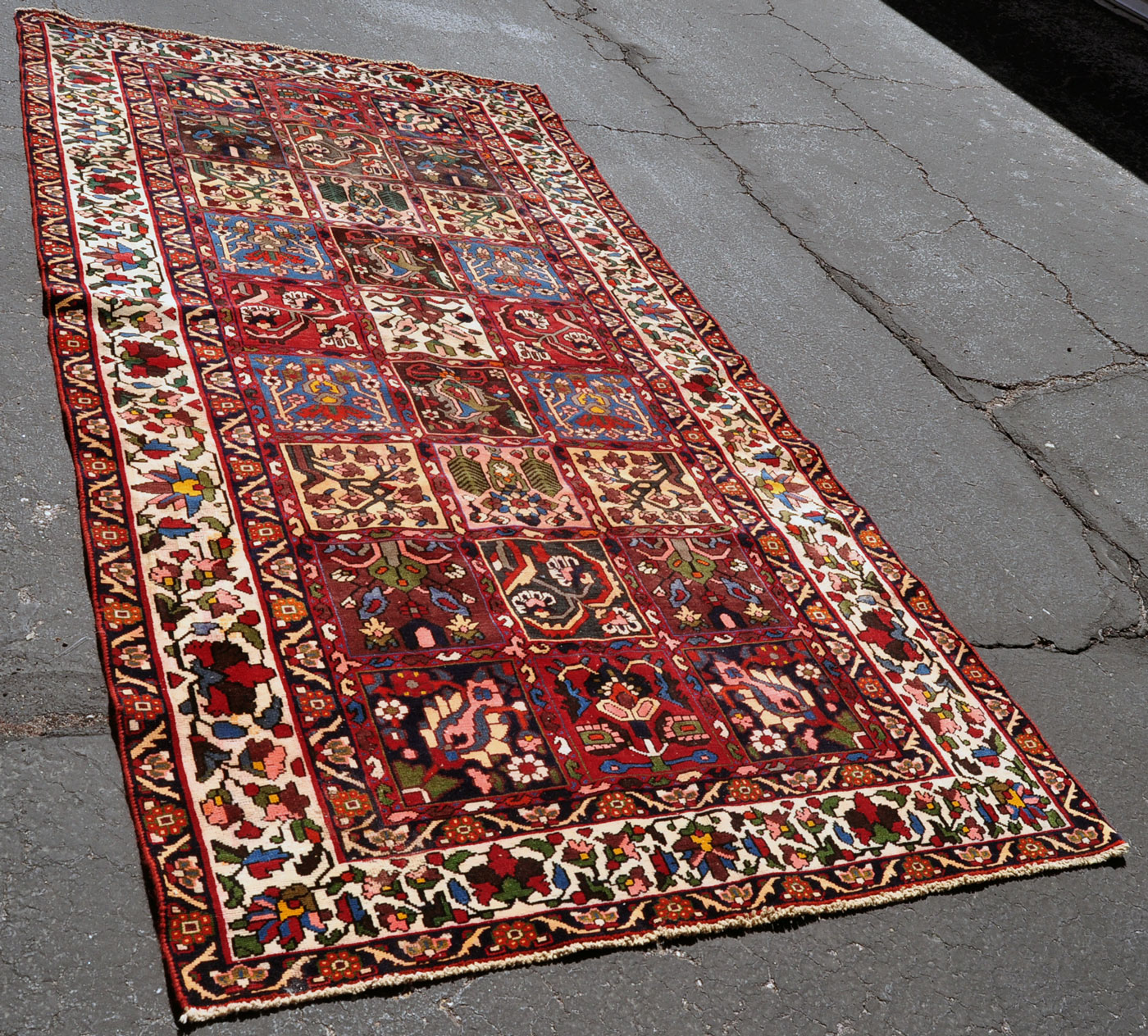 Bakhtiari Garden Panel Carpet