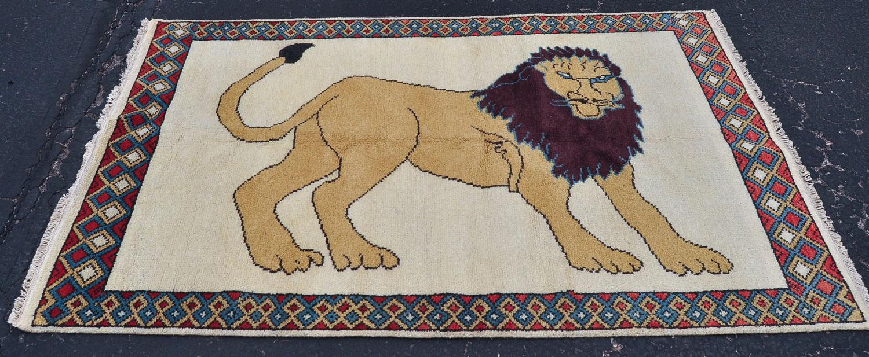 Lion Gabbeh Rug