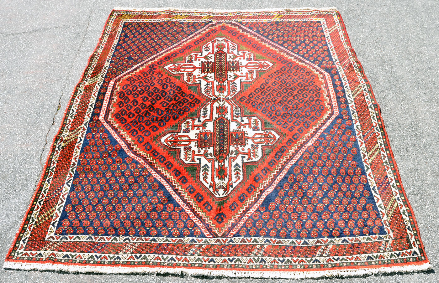 Afshar Tribal Rug
