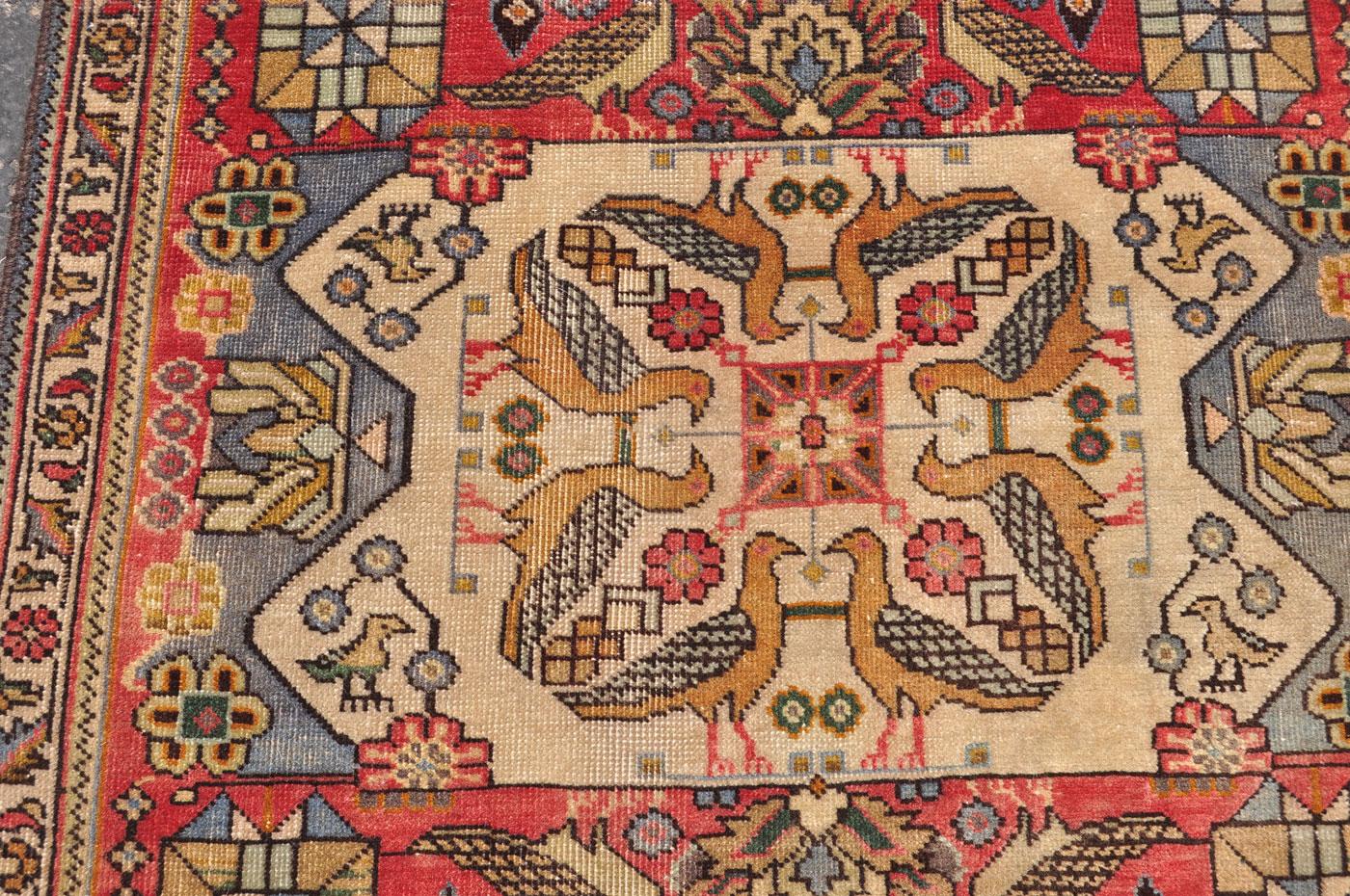 Tabriz Bird Rug
