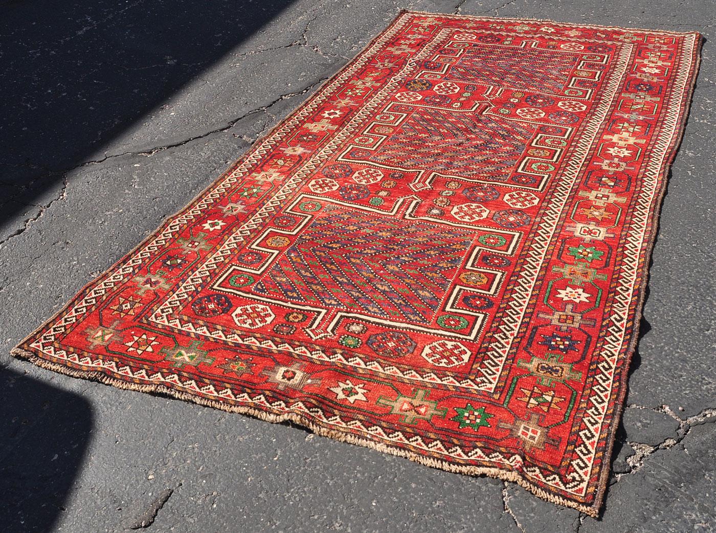 Tribal Shirazi Geometric Rug