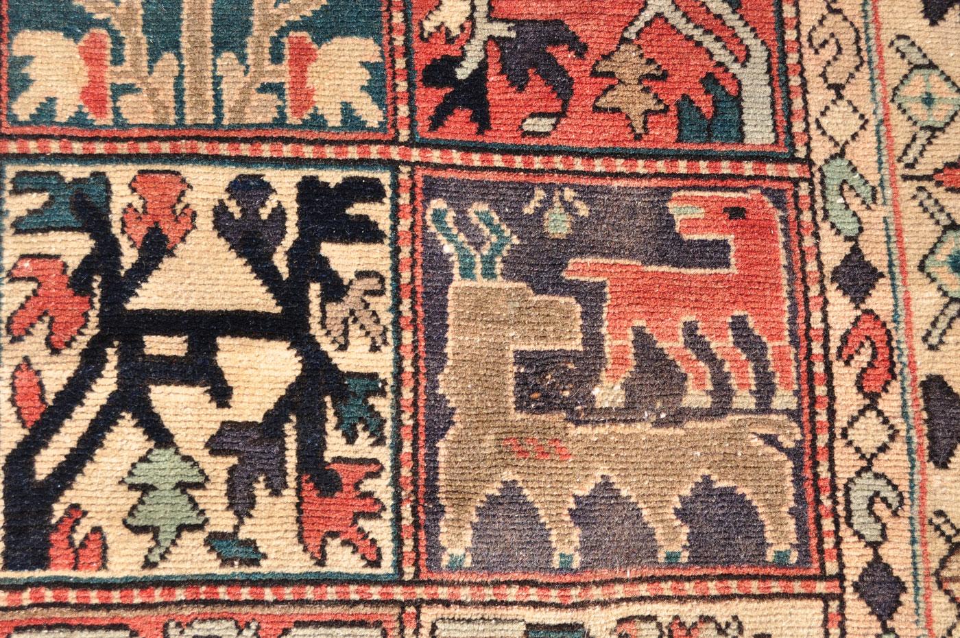 Bakhtiar Animal and Bird rug